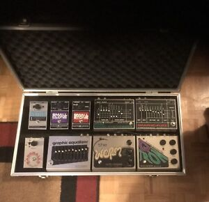 Vintage EHX Pedal Collection Pedalboard Cash or Trade