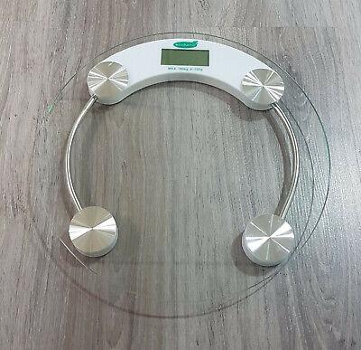 Báscula digital de baño de cristal Ecoducha
