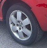 Skoda Fabia Alloy Wheels