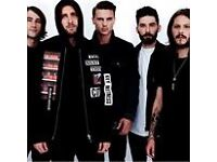 2 x You Me At Six tickets, Cambridge Corn Exchange, Saturday 15th October