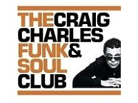 Craig Charles Funk & Soul Show 2 Ticket swap: Brighton (offered) for Worthing (wanted)?
