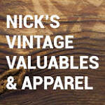 Nicks Vintage Valuables And Apparel