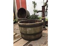 1/2 Barrel 64cm Planters