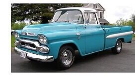 Looking for 1955-59 gmc truck parts.