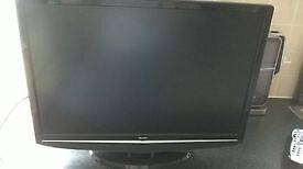Bush 22 Inch LCD HD TV, Freeview, Remote. Immaculate condition. NO OFFERS