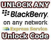 Blackberry Unlock Code