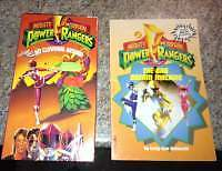 Vintage Power Ranger Video and book for sale London Ontario image 1