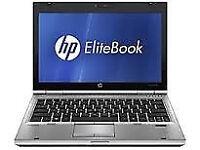 PROFESSIONALLY REFURBISHED HP2530 LAPTOP 4GB RAM 120 HDD INTEL DUO WINDOWS 7 PRO 6 MTH WARRANTY MINT