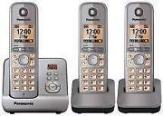 Triple Cordless Phone Answer Machine
