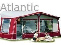 Ventura Altlantic 1000cm Acrylic Caravan Awning IXL (fibre glass) poles