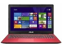 ASUS SONIC MASTER X553M LAPTOP RED our ref 10002