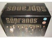 The Sopranos - Series 1-6 - Complete (DVD, 2009, 28-Disc Set, Box Set)