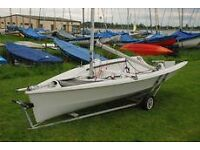RS200 sailing dinghy