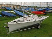 RS200 sailing dinghy