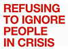 REFUSE TO IGNORE PEOPLE IN CRISIS- IMMEDIATE START- £8.00 PER HOUR! Leeds City Centre