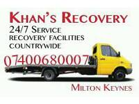 BREAKDOWN RECOVERY SERVICE FROM £25