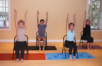 CHAIR ADAPTED YOGA CLASSES