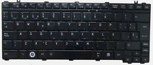 Used OEM Keyboard For Toshiba Satellite U400 U405 M800 A600 E205