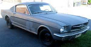 wanted 1965 or 66 mustang fastback