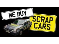 Scrap cars vans wanted non runners spares or repairs salvage damaged car vans wanted