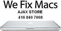 APPLE MAC REPAIR CENTER IN AJAX - GENUINE PARTS + WARRANTY