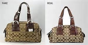 how to tell if its a real coach purse
