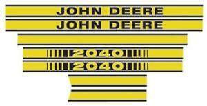 John Deere Tractor Decals  sc 1 st  eBay & John Deere Decals | eBay
