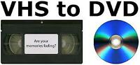 Video Cassette to DVD conversion
