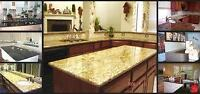 Granite&Quartz Kitchen Countertop Summer Promotions From $45/SF