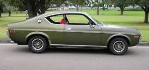 Wanted:  1974 to 1978  Mazda RX4 or Cosmo,  2 door, Manual