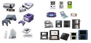 Looking for older generation gaming consoles and games