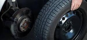 Seasonal Tire Change Over Service