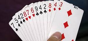 PLaying cards for kids grad