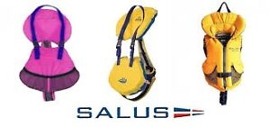 Salus Bijoux and Nimbus infant, child and youth PFDs instock