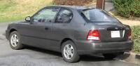2001 Hyundai Accent gs aut 120000km Coupé (2 portes)
