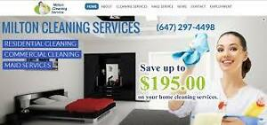 - MILTON CLEANING SERVICING HALTON HILLS, TERRA COTTA, ROCKWOOD Oakville / Halton Region Toronto (GTA) image 1
