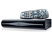 Sky box HD with catch up TV connector