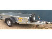 BATESON 8′ x 4′ Single Axle General Purpose Braked Trailer (0842)