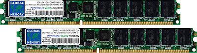 (2GB (2x1GB) DDR2 533MHz PC2-4200 240-PIN ECC REGISTERED VLP RDIMM SERVER RAM KIT)