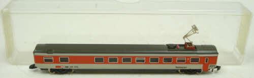 Marklin 8747 Z Scale Swiss Federal Railways SBB CFF FFS Restaurant Car EX/Box