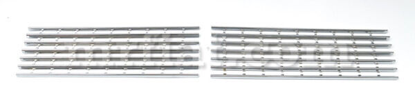 Alfa Romeo 2000 Touring Spider Chrome Front Side Grill Set New