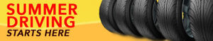 MONUMENTAL SUMMER TIRE SALE/VENTE MONUMENTAL DE PNEUS ETE