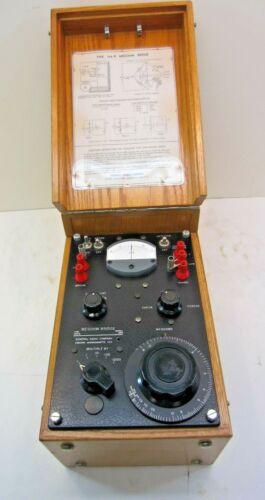 Vintage General Radio Megohm Bridge Type 544-B Cambridge