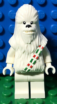 LEGO Star Wars Christmas Snow Chewbacca Minifig From 75146