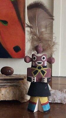 Authentic Antique Vintage Hopi Mud Head Kachina Doll Native American Southwest