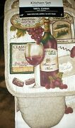 Wine Kitchen Towels