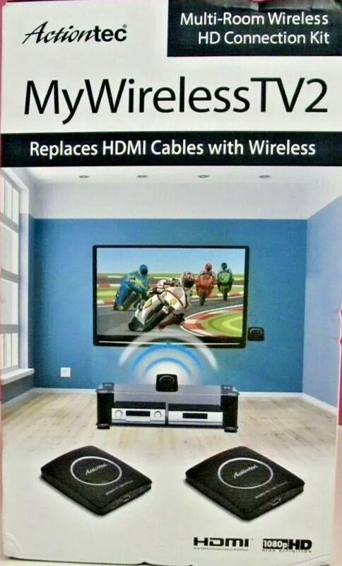 Actiontec MyWirelessTV2 Multi-Room Transmitter Wireless HD Connection Kit NEW