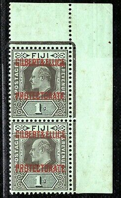 GILBERT & ELLICE Islands KEVII SG7 1s (1911) CORNER PAIR Superb Mint MNH CBLUE93