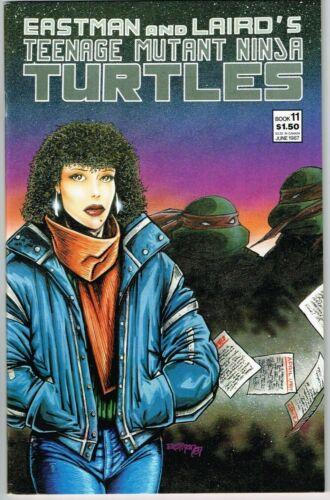 Teenage Mutant Ninja Turtles #11 (1984) - 9.2 NM- *True Stories*