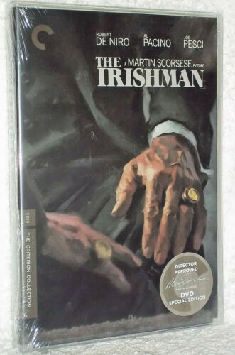 The Irishman (DVD, 2020, 2-Disc) Brand New & Sealed Fast Shipping US Region 1